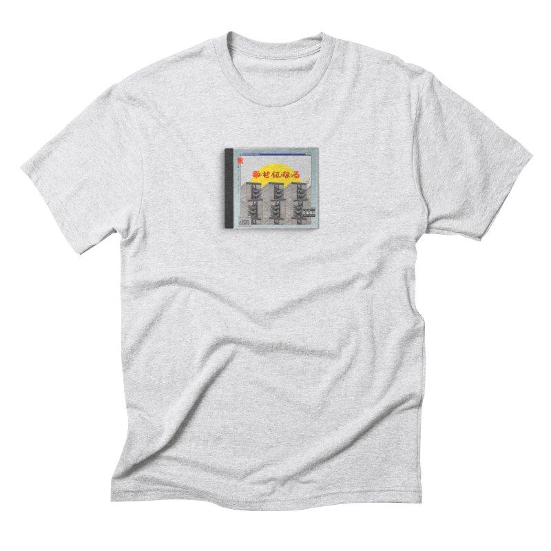 NPC – be happy Men's Triblend T-Shirt by ゴロキ | GORODKEY | GRDK Clothing
