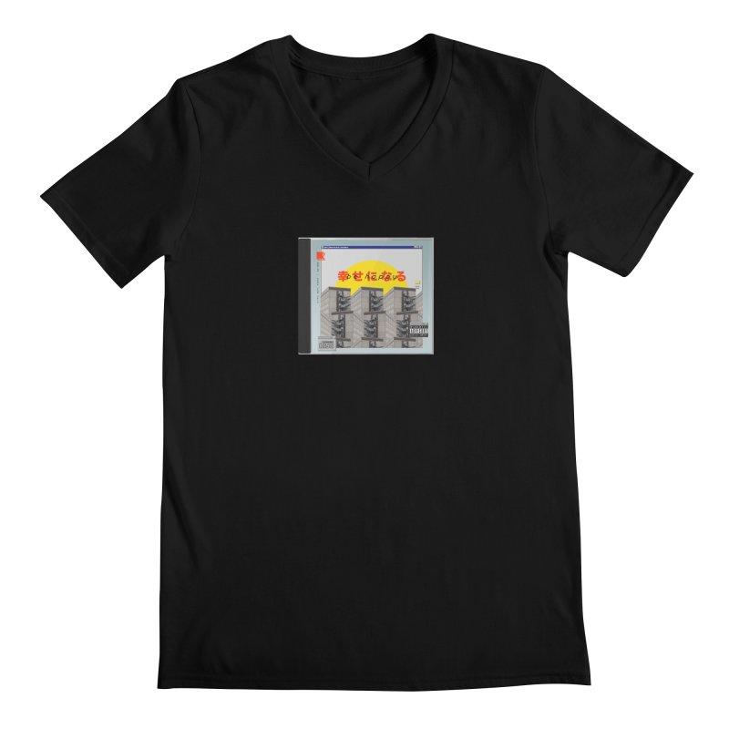 NPC – be happy Men's Regular V-Neck by ゴロキ | GORODKEY | GRDK Clothing
