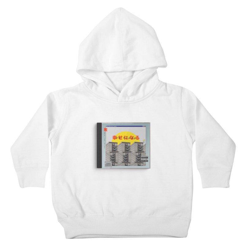 NPC – be happy Kids Toddler Pullover Hoody by ゴロキ | GORODKEY | GRDK Clothing