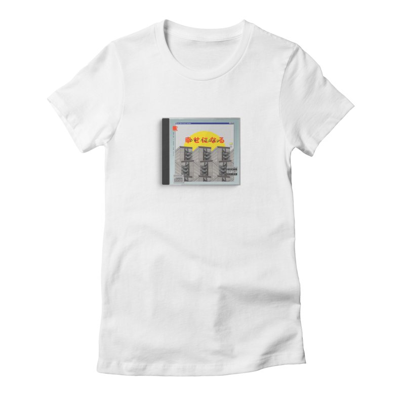 NPC – be happy Women's Fitted T-Shirt by ゴロキ | GORODKEY | GRDK Clothing