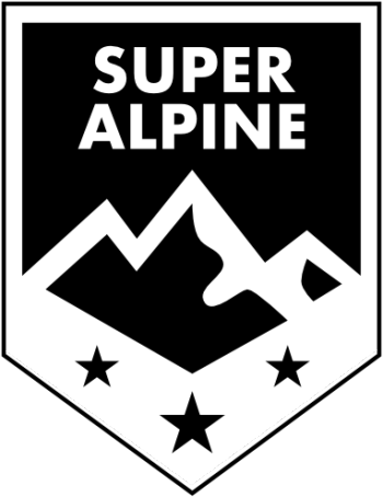Super Alpine Merchandise Logo
