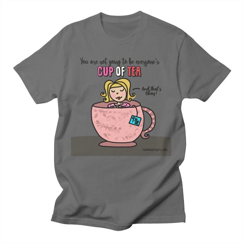 Cup of Tea Women's T-Shirt by superartgirl's Artist Shop
