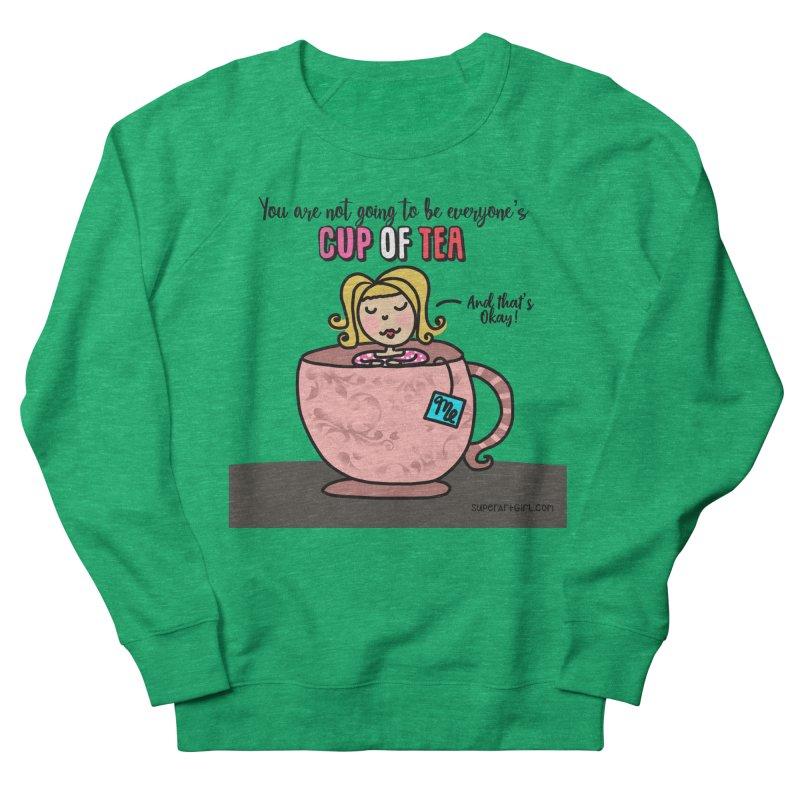 Cup of Tea Women's Sweatshirt by superartgirl's Artist Shop