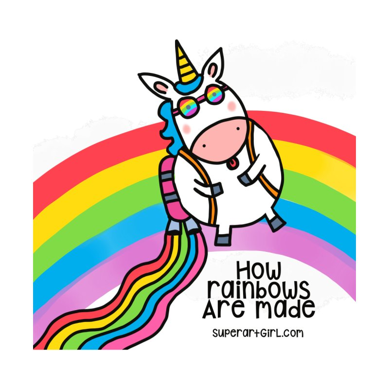 How rainbows are made Accessories Notebook by superartgirl's Artist Shop
