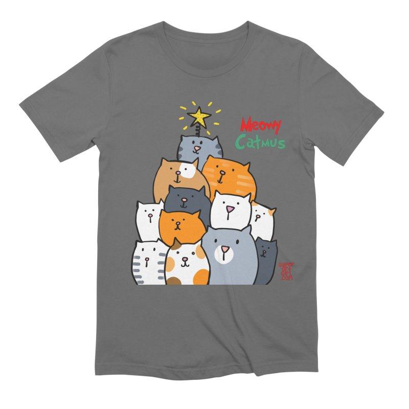 Meowy Catmus Men's T-Shirt by superartgirl's Artist Shop