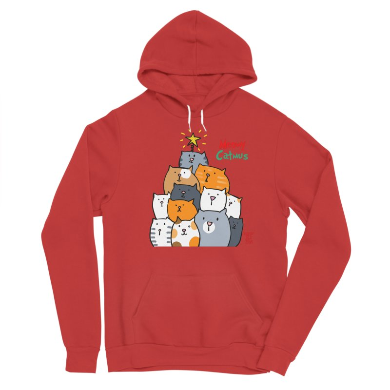 Meowy Catmus Women's Pullover Hoody by superartgirl's Artist Shop