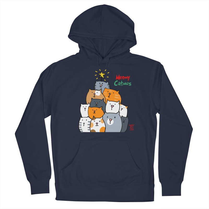 Meowy Catmus Men's Pullover Hoody by superartgirl's Artist Shop
