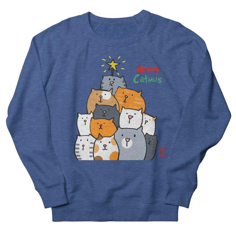 Meowy Catmus Men's Sweatshirt by superartgirl's Artist Shop