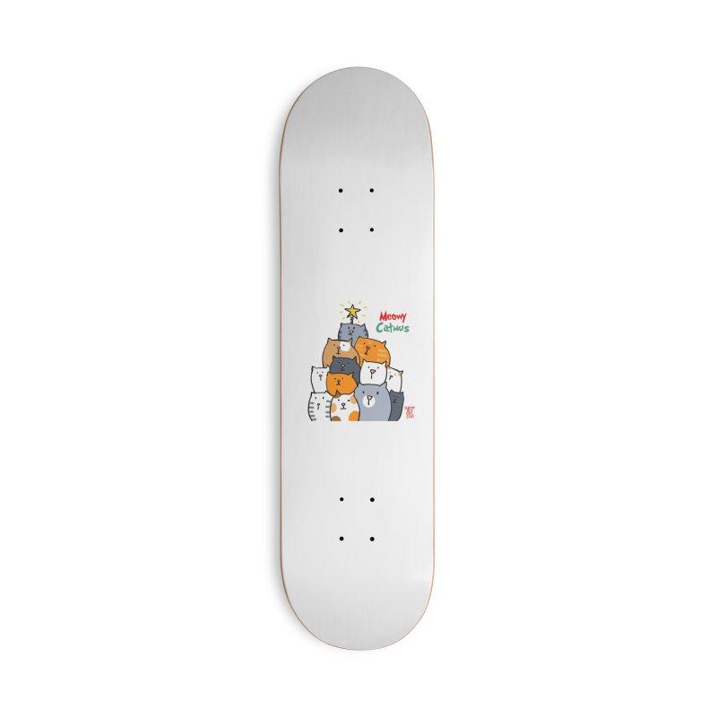 Meowy Catmus Accessories Skateboard by superartgirl's Artist Shop