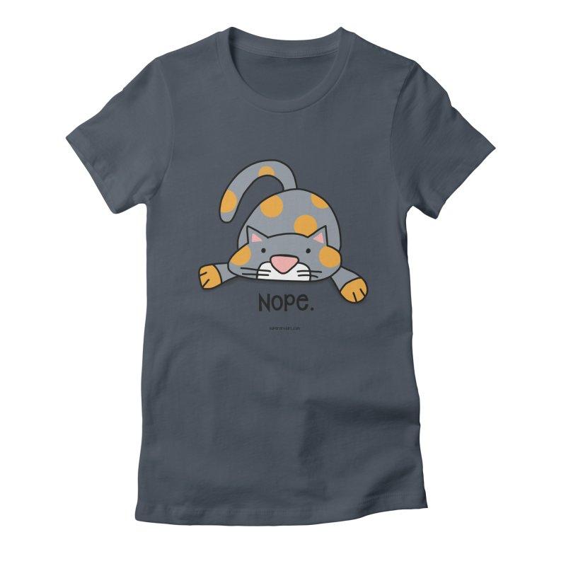 Nope. Women's T-Shirt by superartgirl's Artist Shop