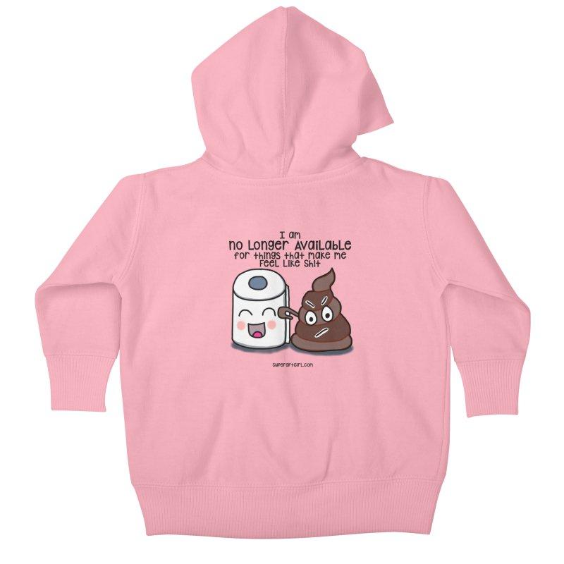 Poop Kids Baby Zip-Up Hoody by superartgirl's Artist Shop