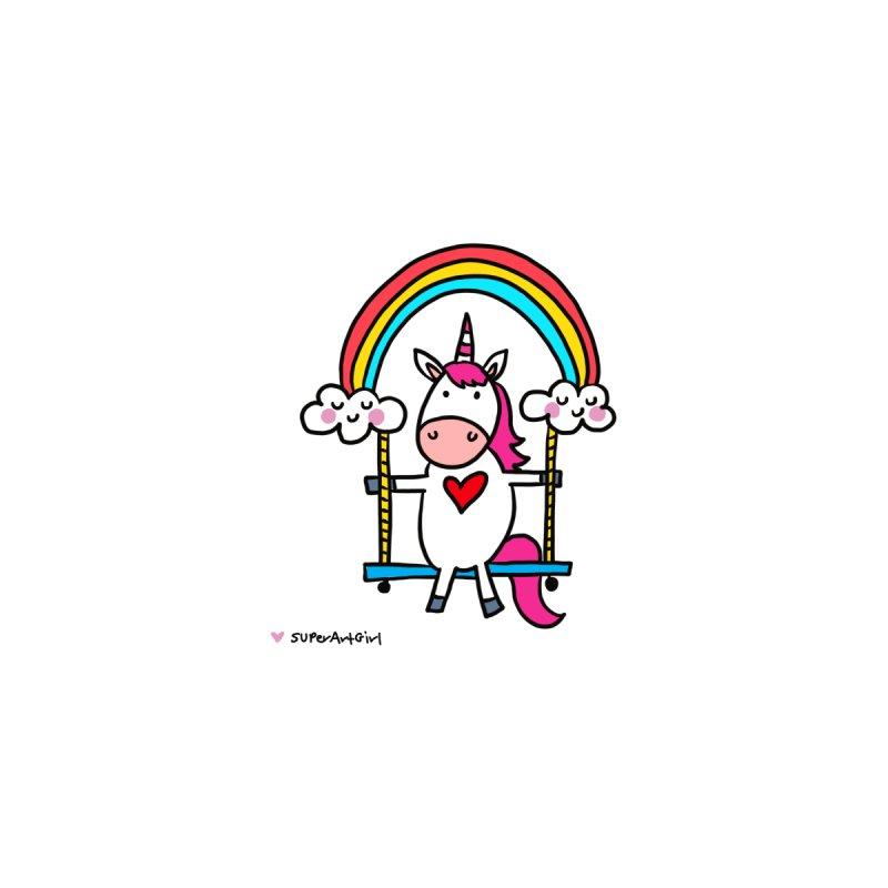 Rainbow Swing Accessories Notebook by superartgirl's Artist Shop
