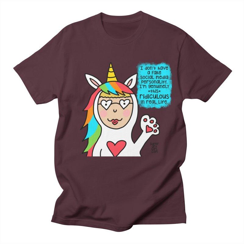 Social Media Men's T-Shirt by superartgirl's Artist Shop