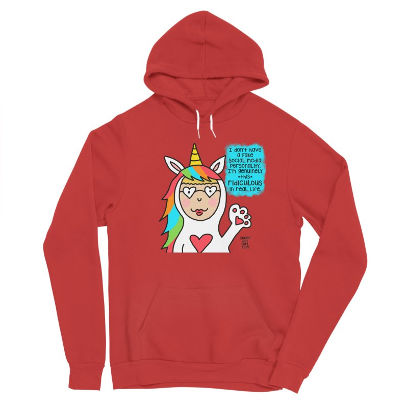 Social Media Women's Pullover Hoody by superartgirl's Artist Shop