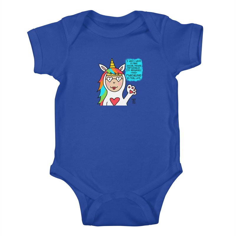 Social Media Kids Baby Bodysuit by superartgirl's Artist Shop