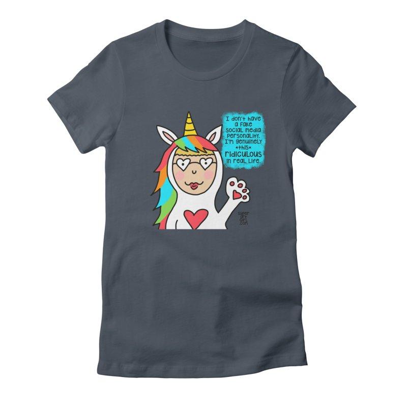 Social Media Women's T-Shirt by superartgirl's Artist Shop