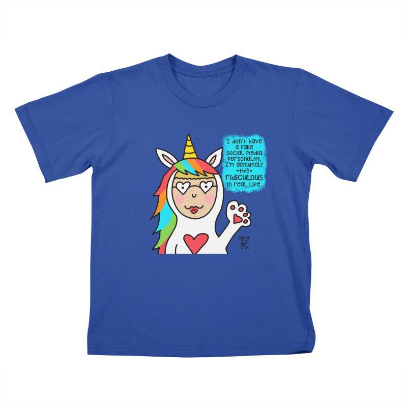 Social Media Kids T-Shirt by superartgirl's Artist Shop
