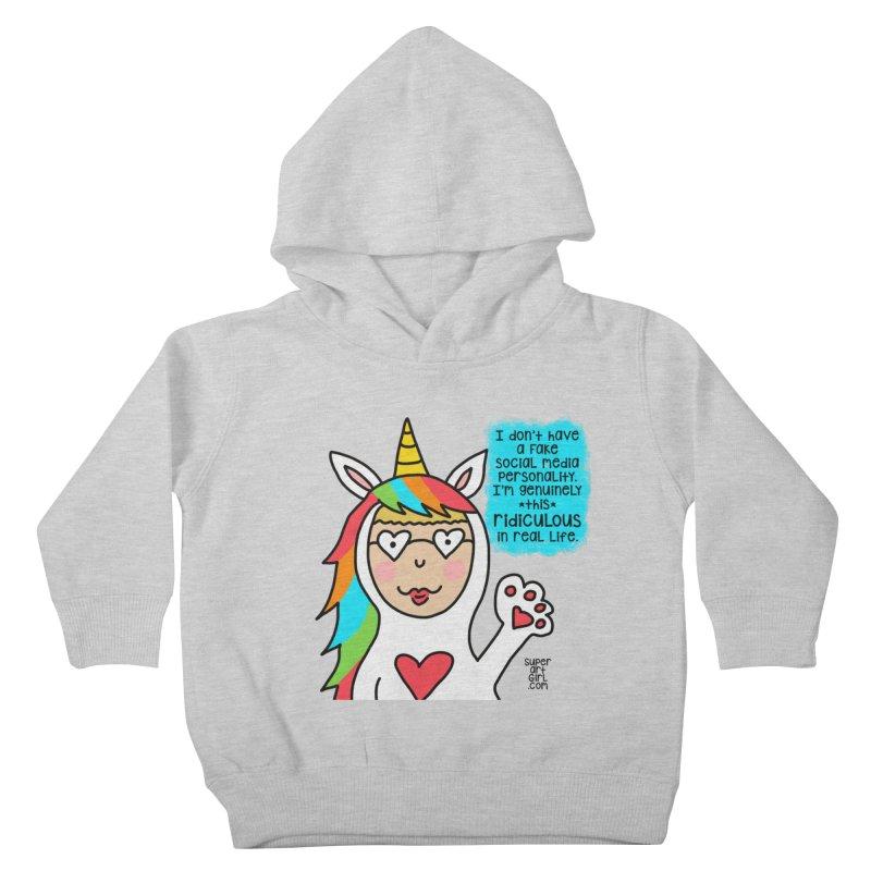 Social Media Kids Toddler Pullover Hoody by superartgirl's Artist Shop