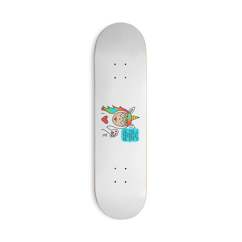 Social Media Accessories Skateboard by superartgirl's Artist Shop