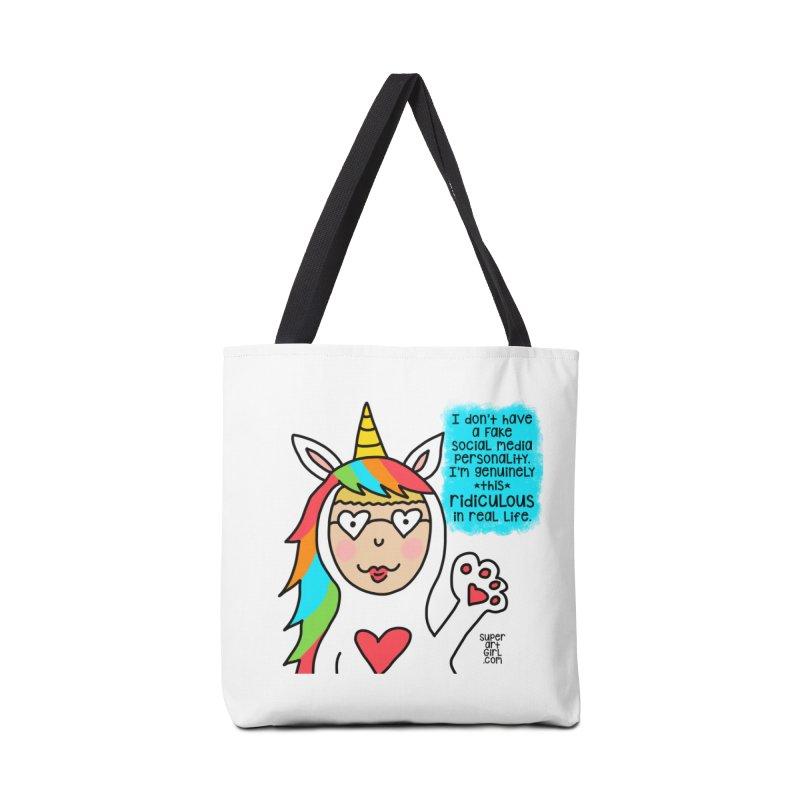 Social Media Accessories Bag by superartgirl's Artist Shop