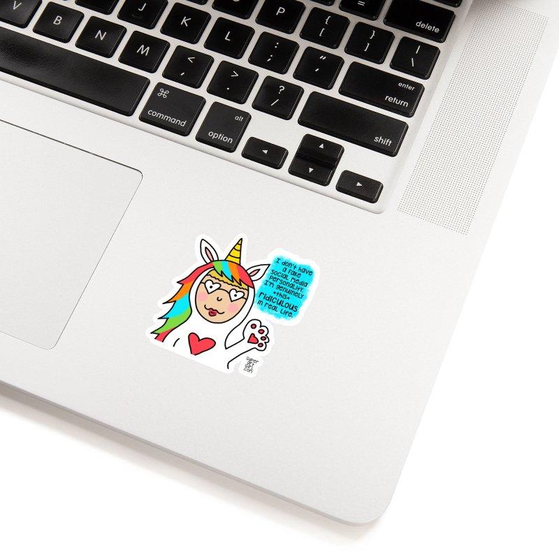 Social Media Accessories Sticker by superartgirl's Artist Shop