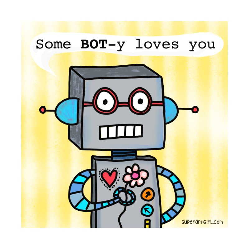 Bot Kids Baby T-Shirt by superartgirl's Artist Shop