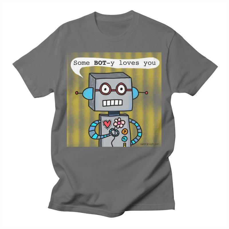 Bot Men's T-Shirt by superartgirl's Artist Shop