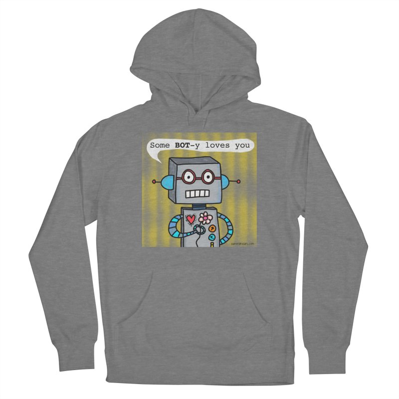Bot Women's Pullover Hoody by superartgirl's Artist Shop