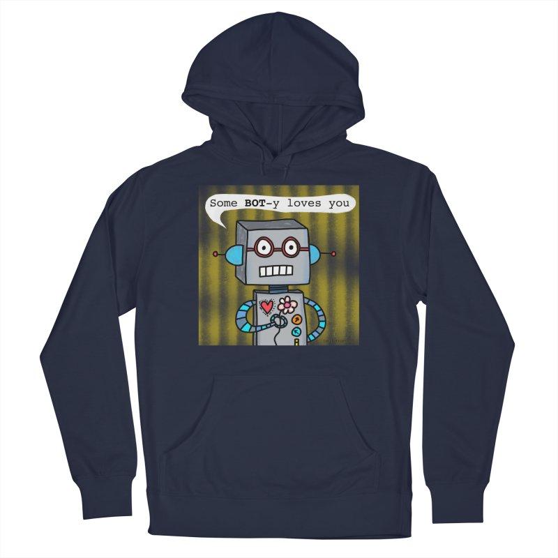 Bot Men's Pullover Hoody by superartgirl's Artist Shop