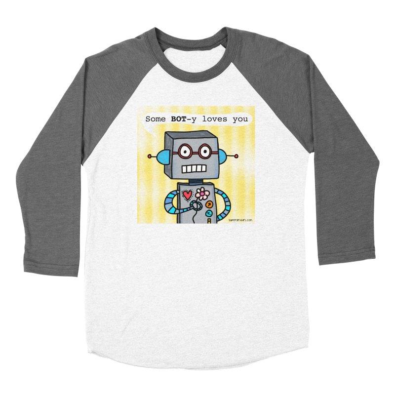 Bot Women's Longsleeve T-Shirt by superartgirl's Artist Shop