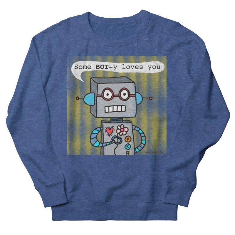 Bot Men's Sweatshirt by superartgirl's Artist Shop