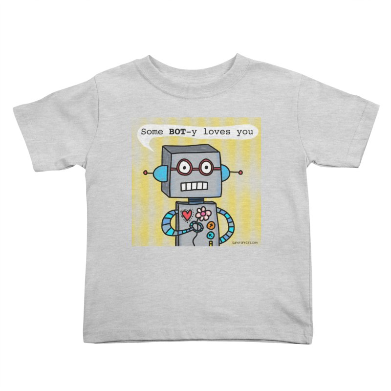 Bot Kids Toddler T-Shirt by superartgirl's Artist Shop