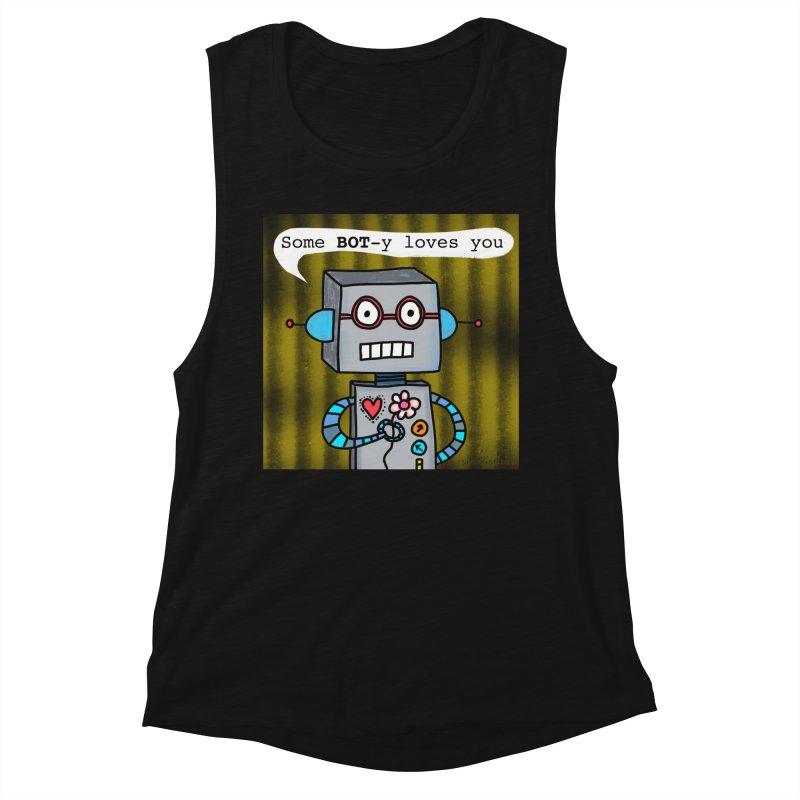 Bot Women's Tank by superartgirl's Artist Shop
