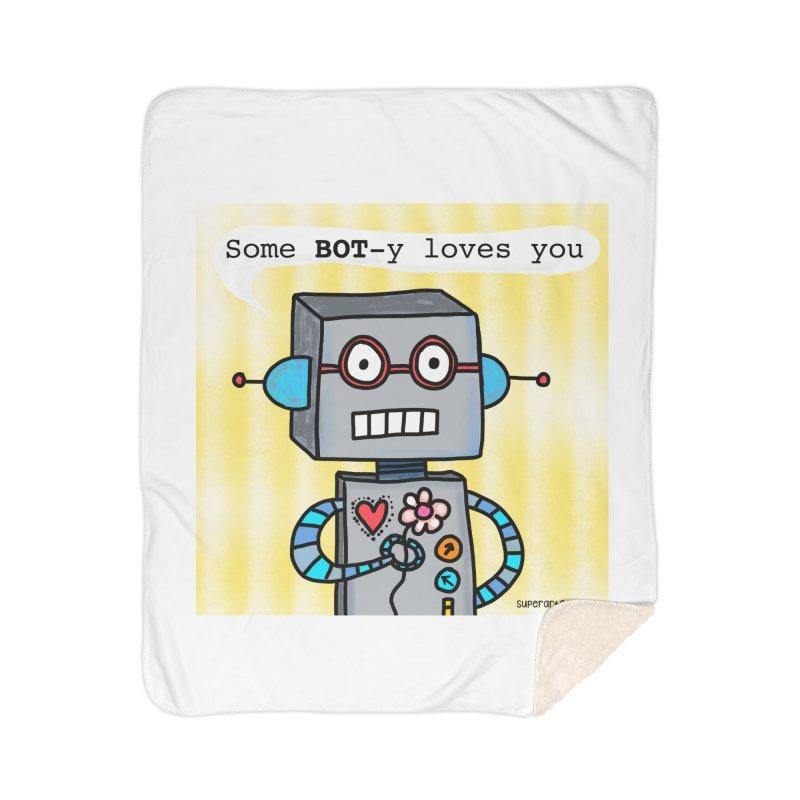 Bot Home Blanket by superartgirl's Artist Shop