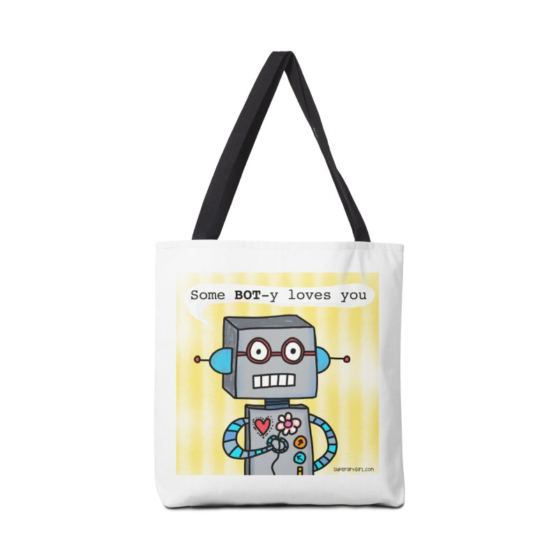 Bot Accessories Bag by superartgirl's Artist Shop