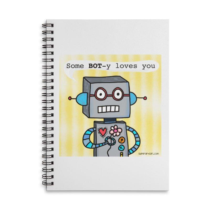 Bot Accessories Notebook by superartgirl's Artist Shop