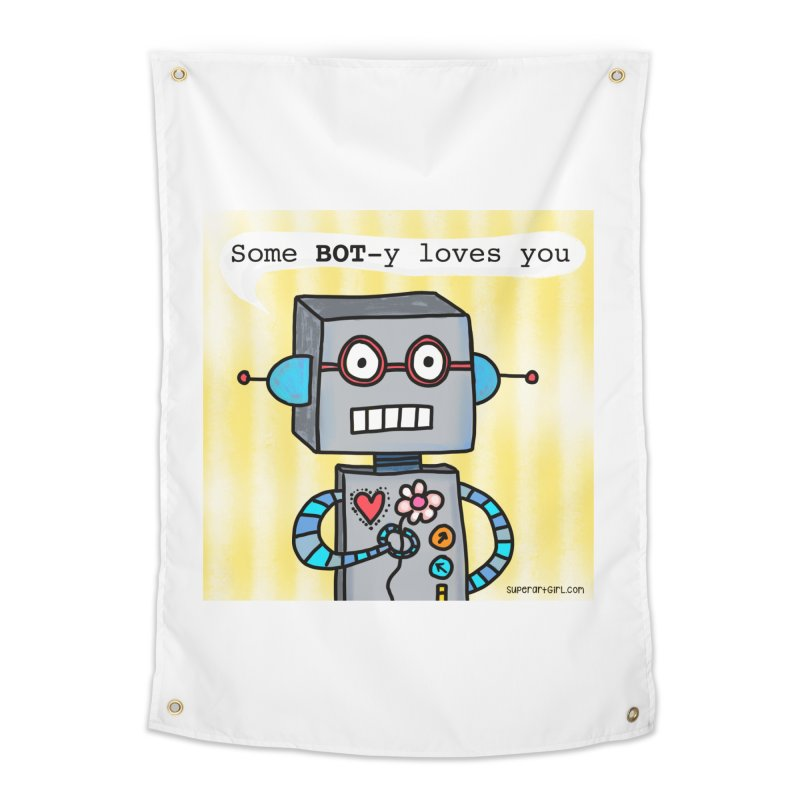 Bot Home Tapestry by superartgirl's Artist Shop