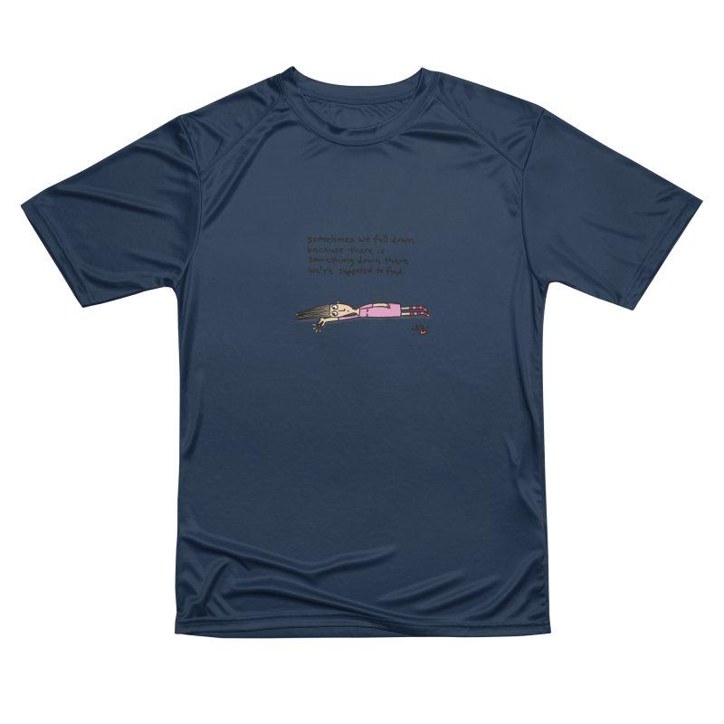 Sometimes We Fall Down Men's T-Shirt by superartgirl's Artist Shop