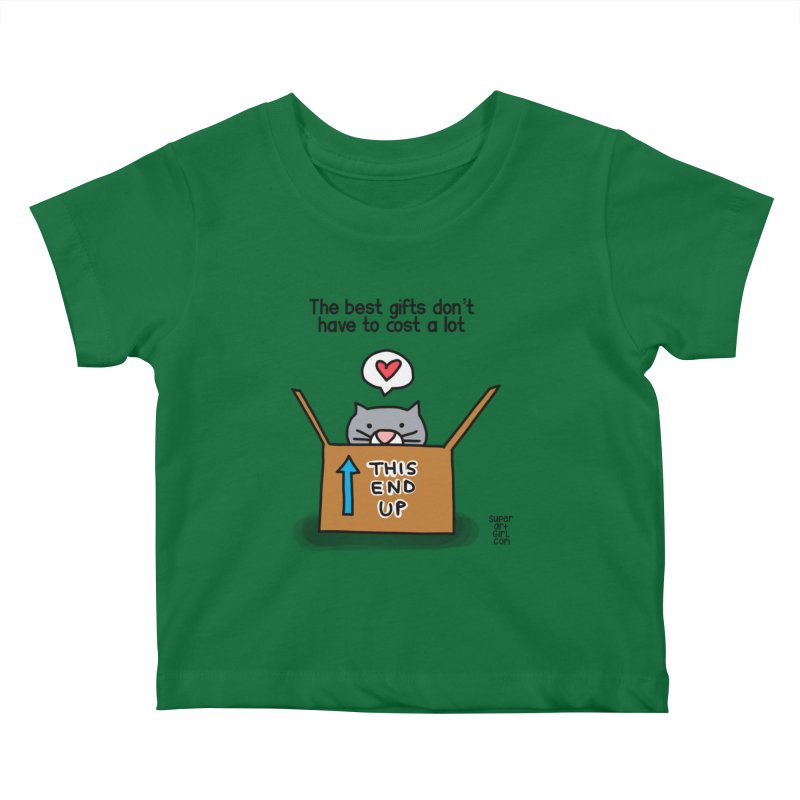 The Best Gifts Kids Baby T-Shirt by superartgirl's Artist Shop