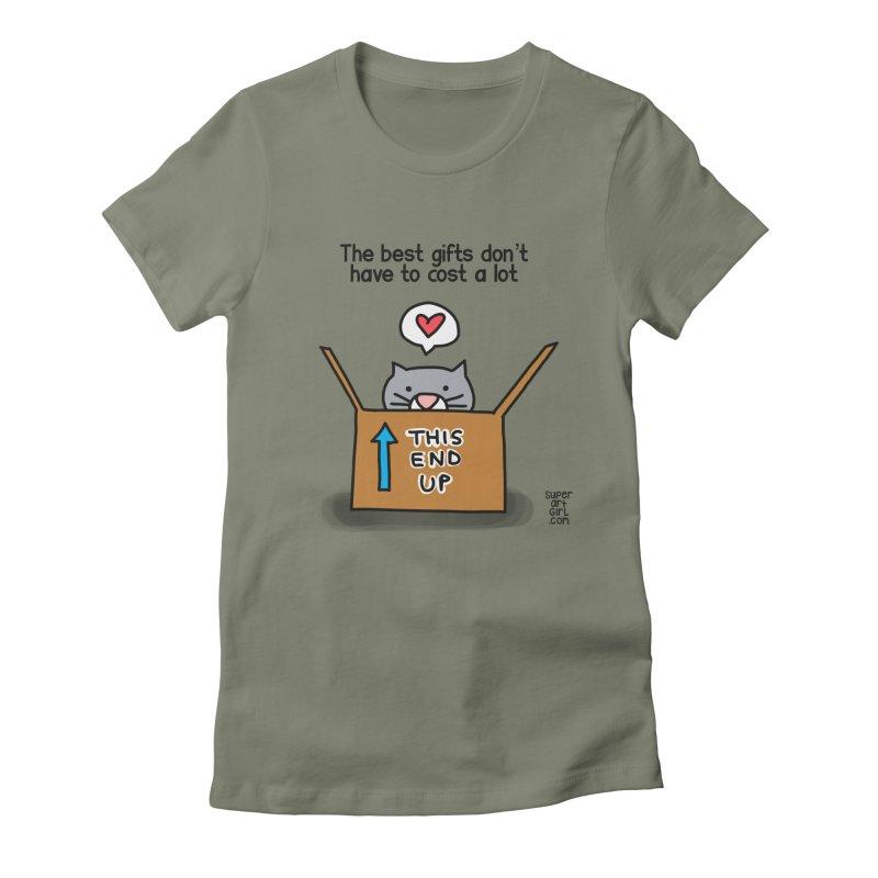 The Best Gifts Women's T-Shirt by superartgirl's Artist Shop