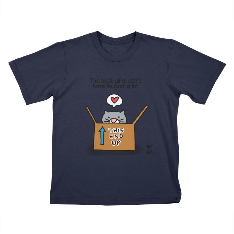The Best Gifts Kids T-Shirt by superartgirl's Artist Shop