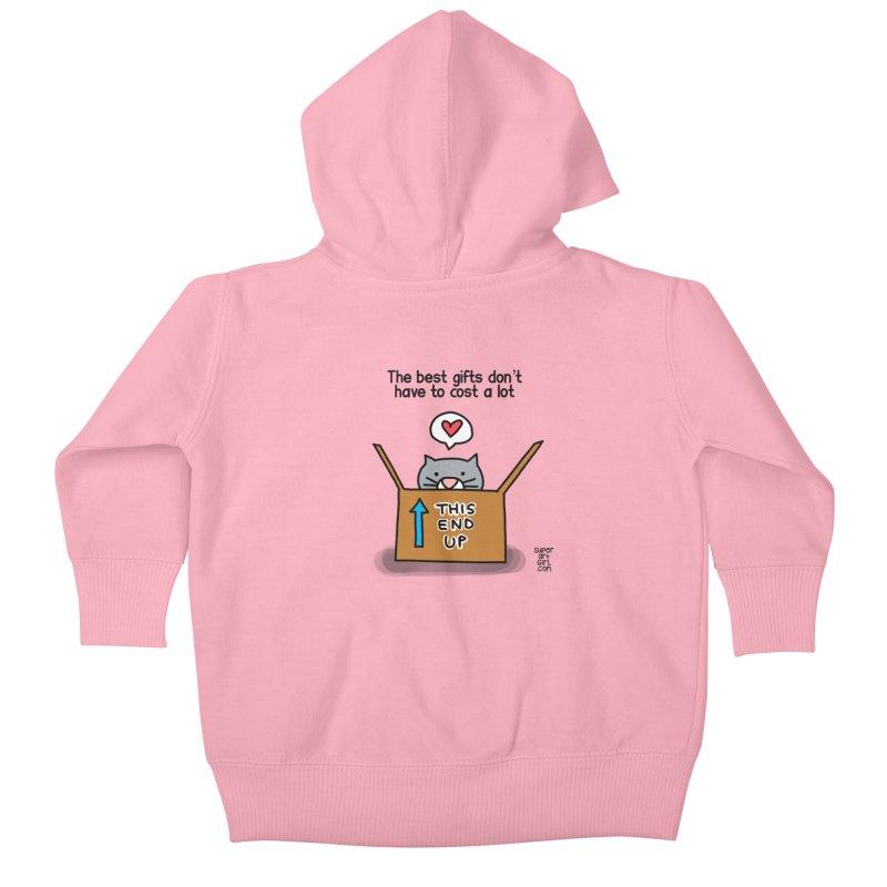 The Best Gifts Kids Baby Zip-Up Hoody by superartgirl's Artist Shop