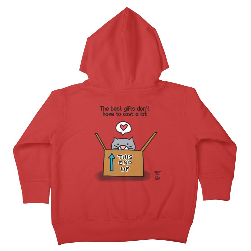 The Best Gifts Kids Toddler Zip-Up Hoody by superartgirl's Artist Shop