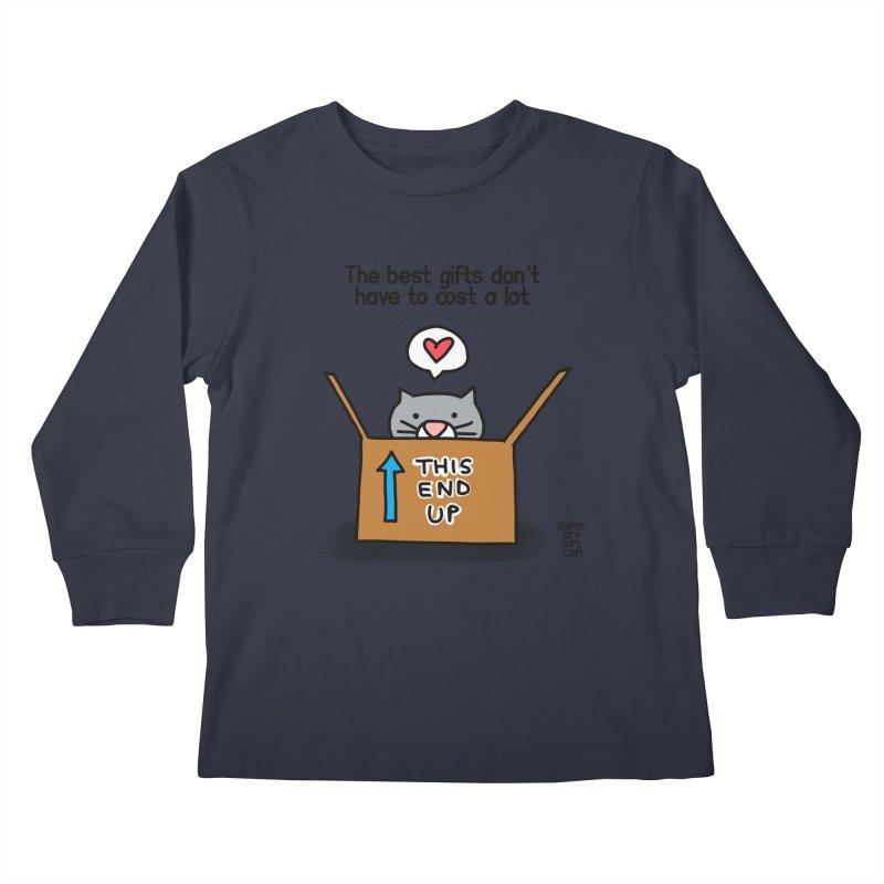 The Best Gifts Kids Longsleeve T-Shirt by superartgirl's Artist Shop