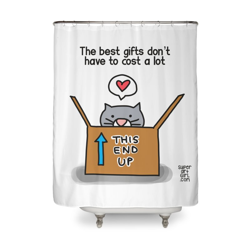 The Best Gifts Home Shower Curtain by superartgirl's Artist Shop