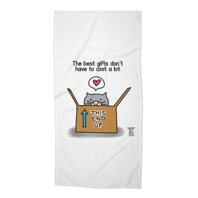 The Best Gifts Accessories Beach Towel by superartgirl's Artist Shop
