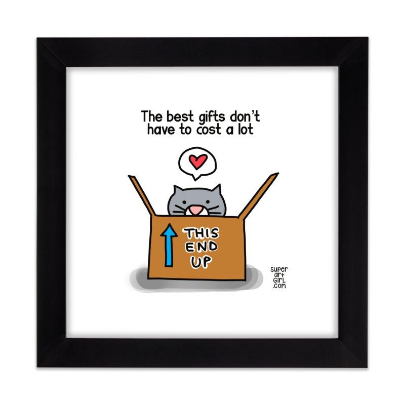 The Best Gifts Home Framed Fine Art Print by superartgirl's Artist Shop