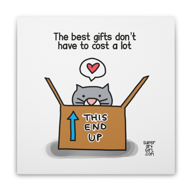 The Best Gifts Home Stretched Canvas by superartgirl's Artist Shop