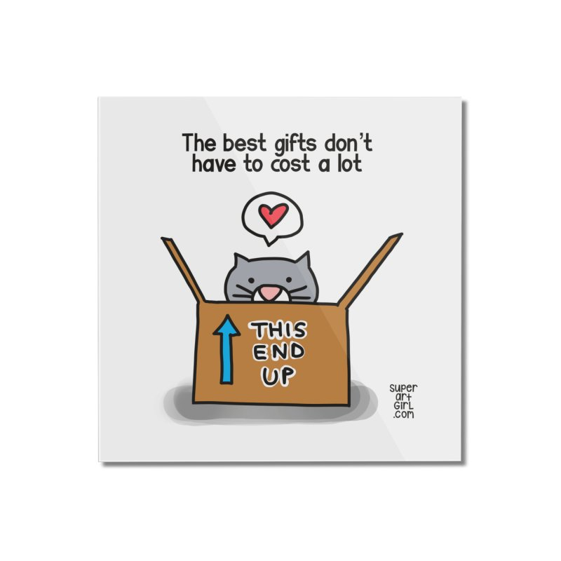 The Best Gifts Home Mounted Acrylic Print by superartgirl's Artist Shop