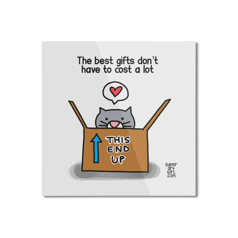 The Best Gifts Home Mounted Aluminum Print by superartgirl's Artist Shop